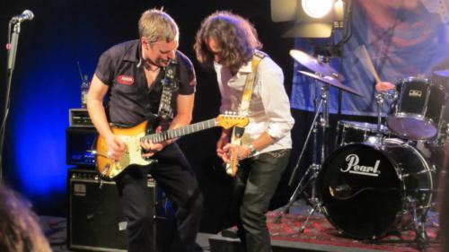2014-01-15 Eamonn McCormack and TomFreitag Claptonmania Kanal21 Bielefeld carisma 01