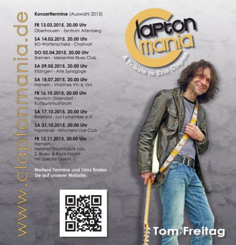 Claptonmania Infoflyer Terminvorschau 2015-03