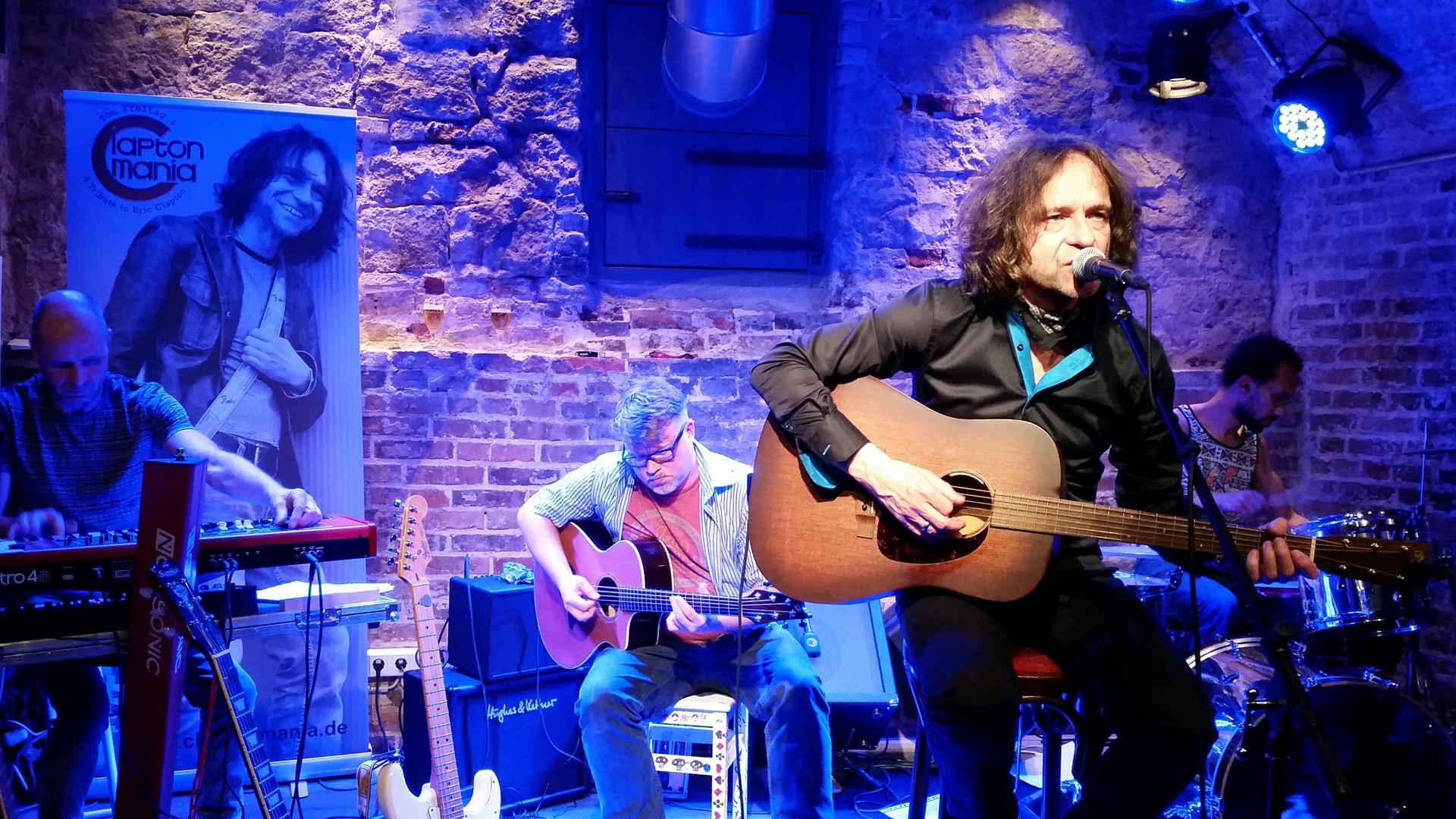 Tom Freitag & Claptonmania unplugged