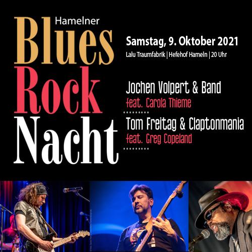 7. Hamelner Blues- & Rocknacht 2021